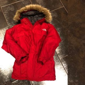 The North Face 🔴 kids down jacket